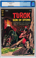 Silver Age (1956-1969):Adventure, Turok, Son of Stone #44 (Gold Key, 1965) CGC NM 9.4 Off-white pages....