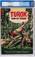 Silver Age (1956-1969):Adventure, Turok, Son of Stone #39 (Gold Key, 1964) CGC NM+ 9.6 Off-white pages....