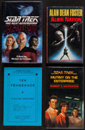 "Movie Posters:Science Fiction, Star Trek: The Next Generation - Reunion & Others (Pocket Books, 1991). Autographed Hard Cover Book (343 Pages, 6"" X 9""), Ha... (Total: 4 Items)"