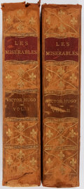 Books:Literature Pre-1900, Victor Hugo. Les Miserables. Thomas Y. Crowell, 1887. Illustrated. Two octavo volumes. Early edition. Contempora... (Total: 2 Items)