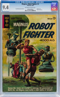 Silver Age (1956-1969):Science Fiction, Magnus Robot Fighter #2 (Gold Key, 1963) CGC NM 9.4 Off-white to white pages....