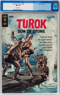 Silver Age (1956-1969):Adventure, Turok, Son of Stone #40 (Gold Key, 1964) CGC NM 9.4 Off-white pages....