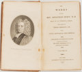 Books:Biography & Memoir, [Jonathan Swift]. The Works of the Rev. Jonathan Swift, D.D.New York: William Durrell and Co., 1812. Twenty-two of ... (Total:22 Items)