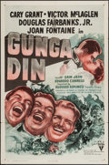 "Movie Posters:Action, Gunga Din (RKO, R-1947). One Sheet (27"" X 41""). Action.. ..."