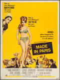 "Movie Posters:Comedy, Made in Paris (MGM, 1966). Poster (30"" X 40""). Comedy.. ..."