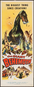 "Movie Posters:Science Fiction, The Giant Behemoth (Allied Artists, 1959). Insert (14"" X 36"").Science Fiction.. ..."