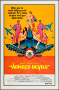"""Movie Posters:Foreign, Winged Devils (United Artists, 1972). International One Sheet (27"""" X 41"""") Flat Folded. Foreign.. ..."""