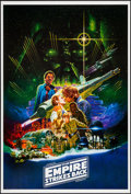 "Movie Posters:Science Fiction, The Empire Strikes Back (Lucasfilm, R-2010). One Sheet (27"" X 40"").Science Fiction.. ..."