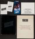 "Movie Posters:Science Fiction, The Empire Strikes Back & Other Lot (20th Century Fox, 1980).Presskit (Multiple Pages, 9.5"" X 12.5""), Program (15"" X 42.5"" ...(Total: 5 Items)"