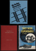 "Movie Posters:War, They Were Expendable by W.L. White and Others Lot (WorldPublishing, 1945). Hardcover Books (3) (8.25"" X 5.5"", 8.25"" X 5...(Total: 3 Items)"