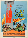 "Movie Posters:Historical Drama, Quo Vadis (MGM, R-1964). Poster (30"" X 40""). Historical Drama.. ..."