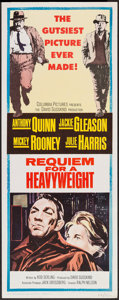 """Movie Posters:Sports, Requiem for a Heavyweight (Columbia, 1962). Insert (14"""" X 36""""). Sports.. ..."""