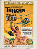 "Movie Posters:Adventure, Tarzan and the Valley of Gold (American International, 1966).Poster (30"" X 40""). Adventure.. ..."