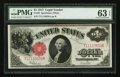 Large Size:Legal Tender Notes, Fr. 39 $1 1917 Legal Tender PMG Choice Uncirculated 63 EPQ.. ...