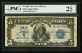 Large Size:Silver Certificates, Fr. 277 $5 1899 Silver Certificate PMG Very Fine 25.. ...