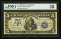 Large Size:Silver Certificates, Fr. 281 $5 1899 Silver Certificate PMG Very Fine 25.. ...