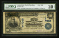 National Bank Notes:North Carolina, Lumberton, NC - $10 1902 Plain Back Fr. 624 The First NB Ch. # (S)7398. ...