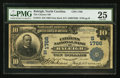 National Bank Notes:North Carolina, Raleigh, NC - $10 1902 Date Back Fr. 619 The Citizens NB Ch. # (S)1766. ...