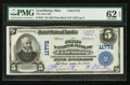 National Bank Notes:Ohio, Lynchburg, OH - $5 1902 Plain Back Fr. 607 The First NB Ch. # 11772. ...