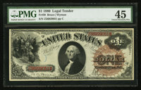 Fr. 30 $1 1880 Legal Tender PMG Choice Extremely Fine 45