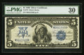 Large Size:Silver Certificates, Fr. 279 $5 1899 Silver Certificate PMG Very Fine 30.. ...