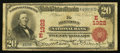 National Bank Notes:Pennsylvania, Allentown, PA - $20 1902 Red Seal Fr. 639 The Allentown NB Ch. #(E)1322. ...