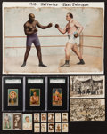 Olympic Cards:General, Vintage 19th and 20th Century US & UK Boxing, Wrestling &Misc. Sports Collection (60+). ...