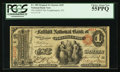 National Bank Notes:New York, Poughkeepsie, NY - $1 Original Fr. 380 The Fallkill NB Ch. # 659. ...