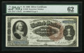 Large Size:Silver Certificates, Fr. 220 $1 1886 Silver Certificate PMG Uncirculated 62.. ...