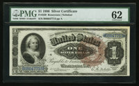 Fr. 220 $1 1886 Silver Certificate PMG Uncirculated 62
