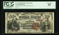 McConnelsville, OH - $20 1882 Brown Back Fr. 504 The Citizens NB Ch. # (M)5259