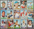 Baseball Cards:Lots, 1967 Topps Baseball Collection (435) With Stars, HoFers and HighNumbers. ...