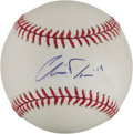 Autographs:Baseballs, Chris Davis Single Signed Baseball. ...