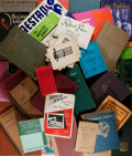 Books:Music & Sheet Music, [Music]. Group of Thirty-Five (35) Titles Related to Music and Music History. Various Publishers, Various Dates. Publisher's... (Total: 35 Items)