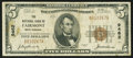 National Bank Notes:West Virginia, Fairmont, WV - $5 1929 Ty. 1 The NB of Fairmont Ch. # 9462. ...
