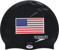 Miscellaneous Collectibles:General, Mark Spitz Signed Swimmers Cap....