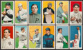 Baseball Cards:Lots, 1909-11 T206 White Border Tobacco card Collection (12) With ScarcerBrands. ...