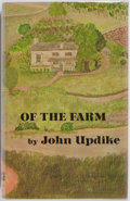 Books:Fiction, John Updike. INSCRIBED REVIEW COPY. Of the Farm. Alfred A.Knopf, 1965. First edition. Inscribed by the author...