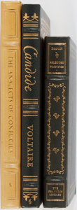 Books:Philosophy, [Philosophy]. Group of Three Books Published by Easton or Franklin. Easton/Franklin, [1976-1982]. Three classics of philosop... (Total: 3 Items)