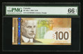 Canadian Currency: , BC-66a-i 2006 $100. ...