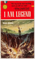 Books:Science Fiction & Fantasy, Richard Matheson. I Am Legend. Gold Medal Books/Fawcett Publication, 1954. First edition. Cover illustrated by S...