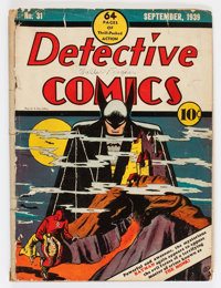 Detective Comics #31 (DC, 1939) Condition: PR