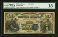 National Bank Notes:Texas, Shiner, TX - $20 1882 Value Back Fr. 581 The First NB Ch. # (S)5628. ...