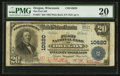 National Bank Notes:Wisconsin, Oregon, WI - $20 1902 Plain Back Fr. 657 The First NB Ch. # 10620. ...