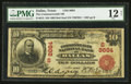 National Bank Notes:Texas, Dallas, TX - $10 1902 Red Seal Fr. 615 The Commonwealth NB Ch. # (S)8664. ...