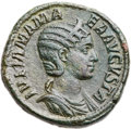 Ancients:Roman Imperial, Ancients: Julia Mamaea, mother of Severus Alexander (Augusta, AD222-235). Æ sestertius (31mm, 23.91 gm, 12h)....