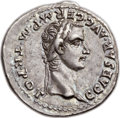 Ancients:Roman Imperial, Ancients: Gaius 'Caligula' (AD 37-41), with Germanicus (died AD19). AR denarius (20mm, 3.78 gm, 11h). ...