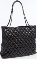 Luxury Accessories:Bags, Chanel Black Quilted Lambskin Leather Bubble Tote Bag. ...