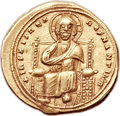 Ancients:Byzantine, Ancients: Romanus III Argyrus (1028-1034). AV histamenon nomisma(23mm, 4.40 gm, 6h). ...