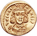 Ancients:Byzantine, Ancients: Constantine IV (AD 668-685). AV solidus (20mm, 4.50 gm,6h). ...
